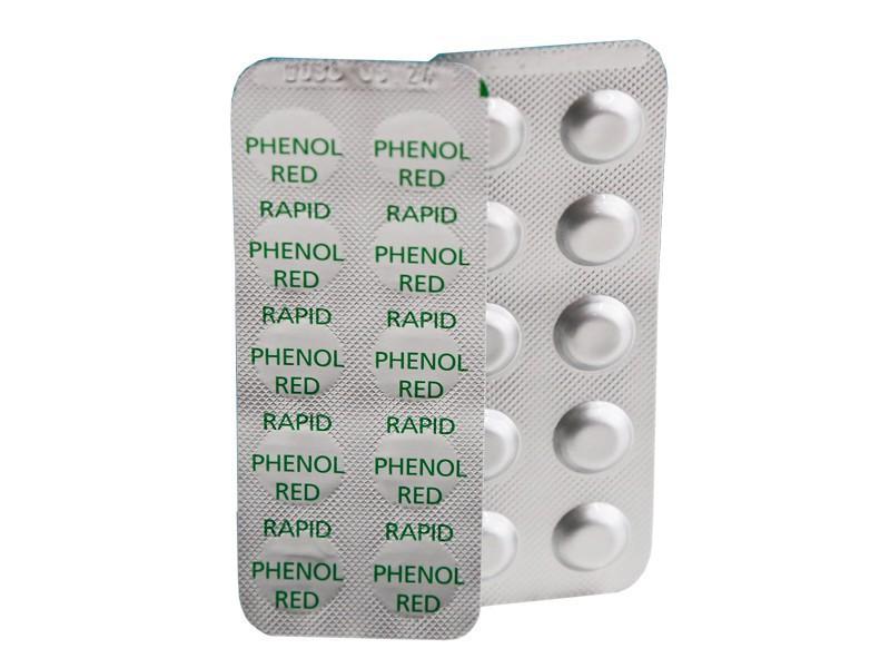 100 bayrol ph wert testtabletten phenol red f r pooltester. Black Bedroom Furniture Sets. Home Design Ideas