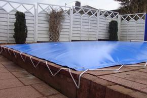 Aufblasbare Schwimmbadabdeckung 4