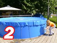 Aufblasbare Schwimmbadabdeckung 7