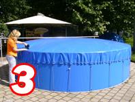 Aufblasbare Schwimmbadabdeckung 8