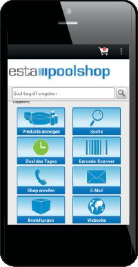 aa1bc1e4a5fda7 Die ESTA Shopping-App macht Einkaufen mit dem Smartphone oder Tablet jetzt  noch einfacher, schneller und sicherer. Ob unterwegs oder zu Hause -  jederzeit im ...