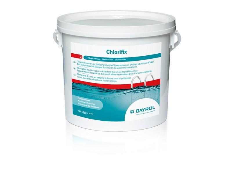 bayrol chlorifix 5 kg schnell l sliches chlor granulat sto chlorung mikrokugeln ebay. Black Bedroom Furniture Sets. Home Design Ideas