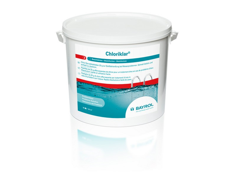 bayrol chloriklar 10 kg wasserpflege bayrol bayrol chlor. Black Bedroom Furniture Sets. Home Design Ideas